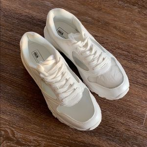 ASOS Windowed White Shoes